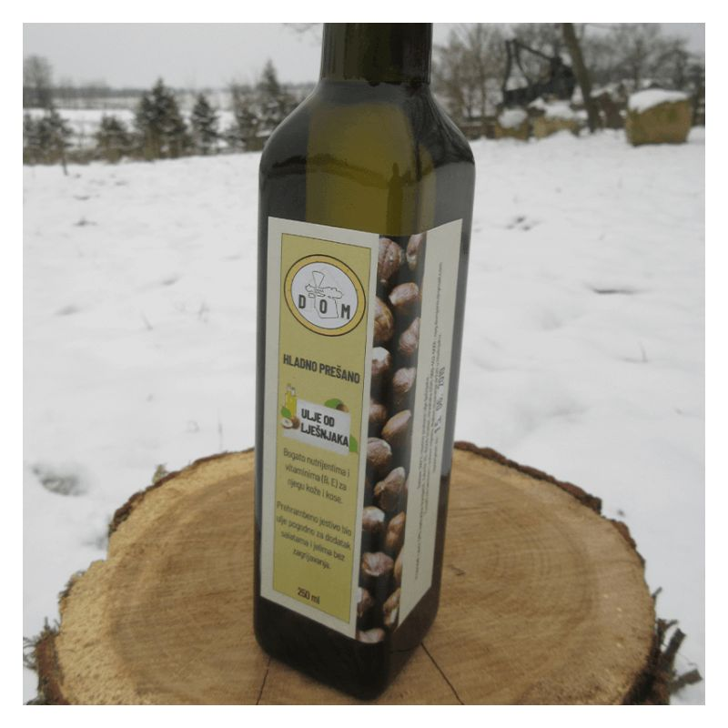 Cold pressed hazelnut oil 250ml Price Discount