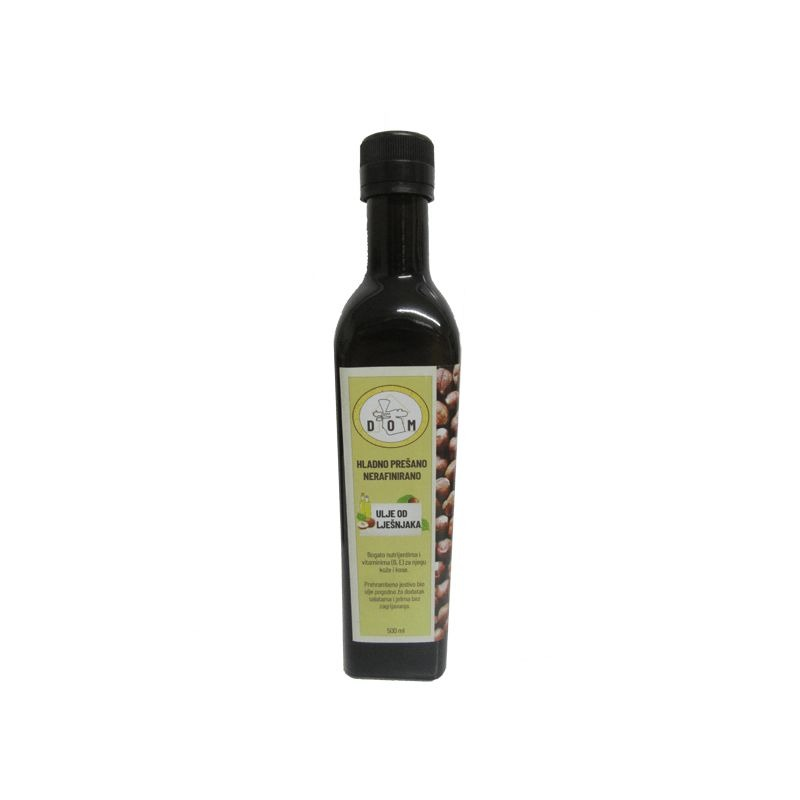 Cold pressed hazelnut oil 500ml Price