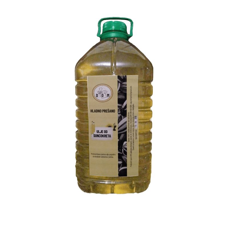 Cold pressed sunflower oil 5L Price